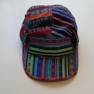 Multi- color pattern hat